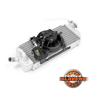 Dirt Bike Digital Radiator Fan Kit