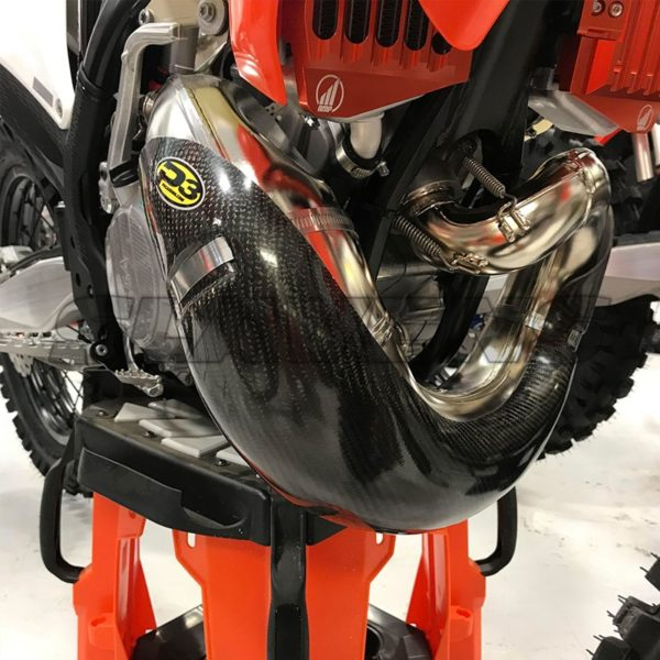 Carbon pipe guards