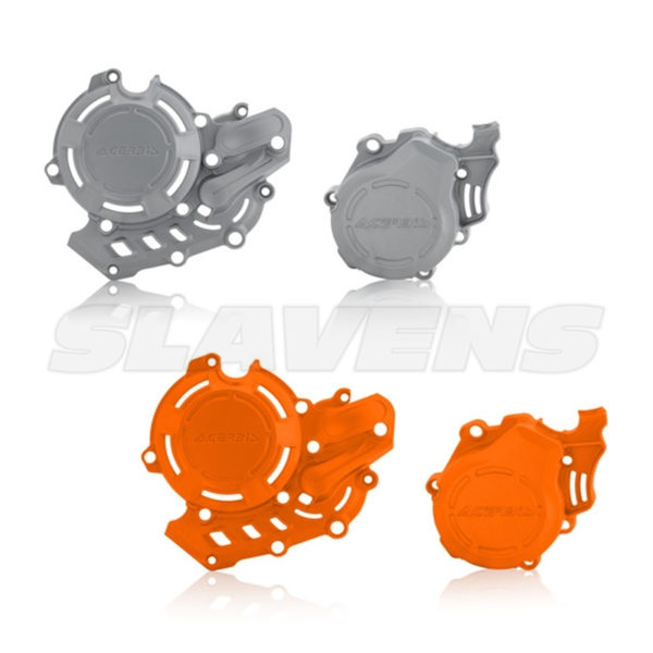 X-Power Clutch and Ignition Cover for KTM, HQV, GasGas by Acerbis