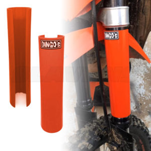 Dingo Upper Fork Guards - KTM Orange