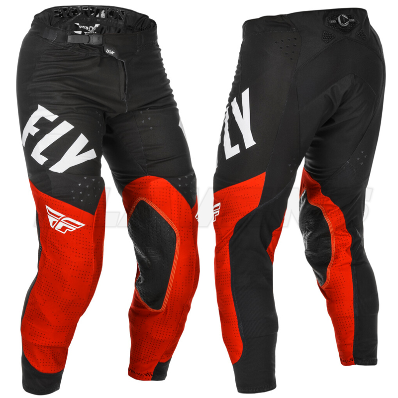 Fly Racing Evolution Pants - Red, Black, White