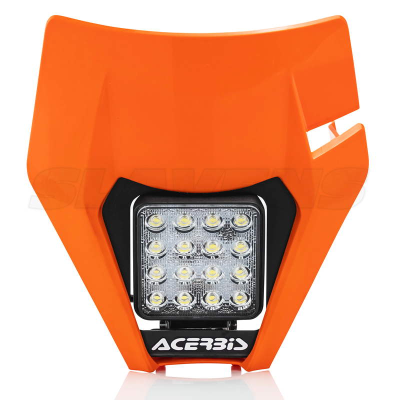 LED Headlight Mask KTM 2017-2019 - Orange
