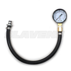 Fuel Pressure Gauge for KTM, Husaberg, HQV, Beta by Slavens Racing