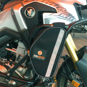 Honda Africa Twin Crash Bar Bags by TrailMaster