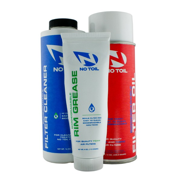 Classic Aerosol Filter Oil, Cleaner & Rim Grease by No-Toil